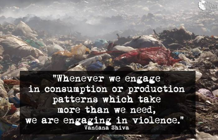 consumption&violenceVandanaShiva
